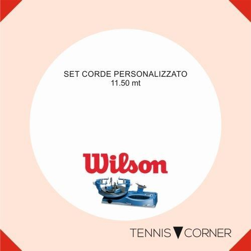 WILSON RIPSPIN-130-BIANCO