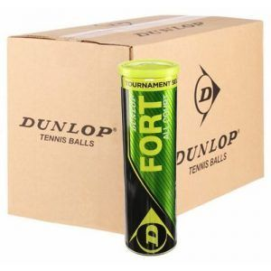 Dunlop Fort All Court TournaMenT Select Cartone da 18 tubi in metallo da 4 palline.-0