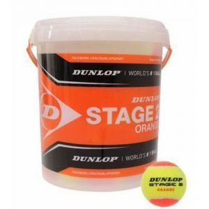 Dunlop Stage 2 Orange BallS (cesto da 60 palle)-0