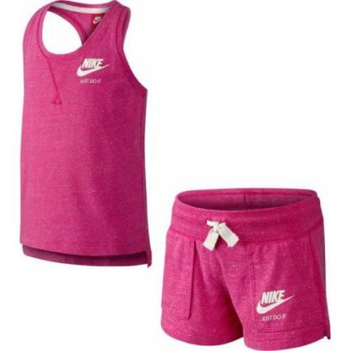 Nike Little Girl Gym Vintage Set-0