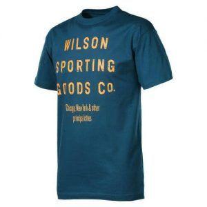 Wilson Retro Sport Goods Crew T-Shirt-0