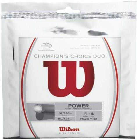 WILSON CHAMPIONS CHOISE DUO (ibrido)-130/125-NATURALE/GRIGIO