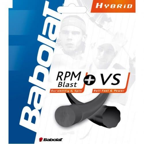 Babolat RPM Blast + VS Team (Ibrido)-125/130-NERO