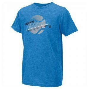 Wilson Boy Tennis Stripe Tech Tee-0