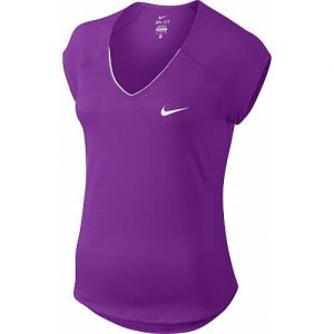 Nike Pure V-Neck Top-0