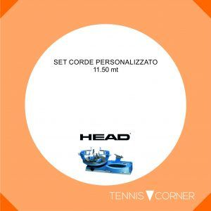 Head Hawk Touch-125-Rosso