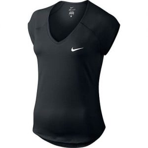 Nike Pure V-Neck Top Maglietta Tennis - TennisCornerShop