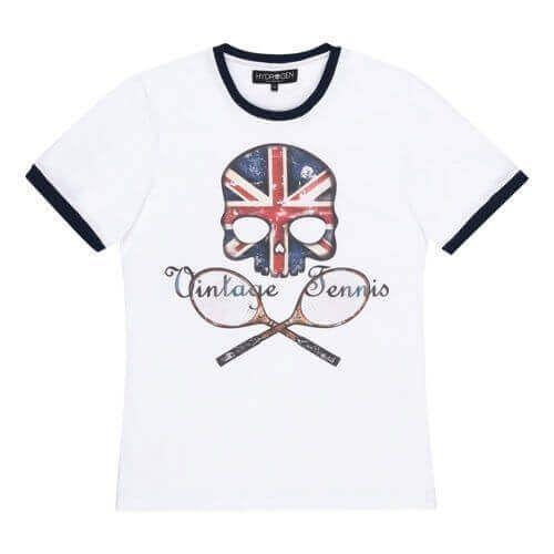 Hydrogen Vintage Flag UK T-shirt-0