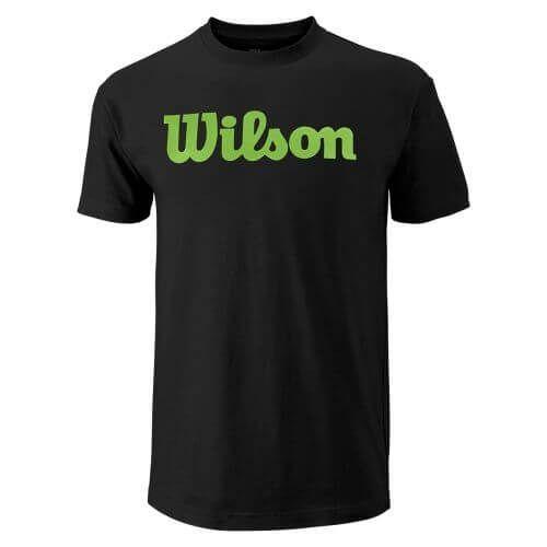 Wilson Man Script Cotton Tee-0