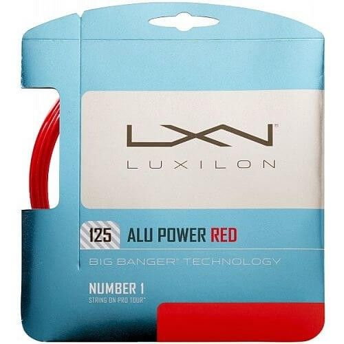 Luxilon Alu Power RED-125-Rosso