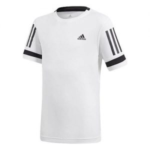 Adidas Club 3 Stripes T-Shirt Junior Maglietta da Tennis - TennisCornerShop