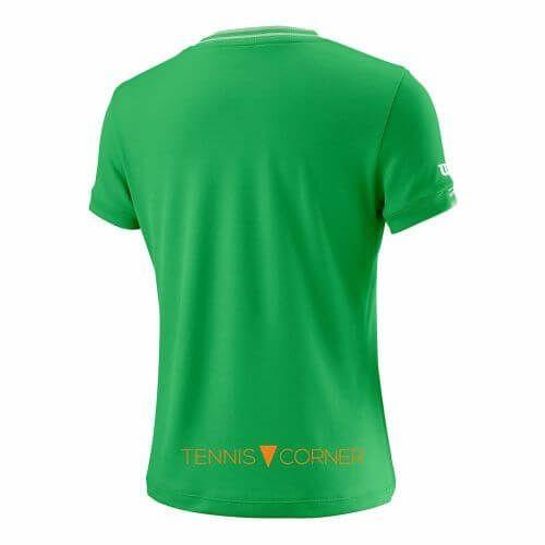 Wilson Girl Team V-Neck T-Shirt-56493