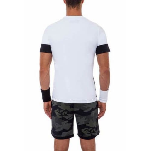 Hydrogen Tech Camo T-shirt Maglietta Tennis - TennisCornerShop