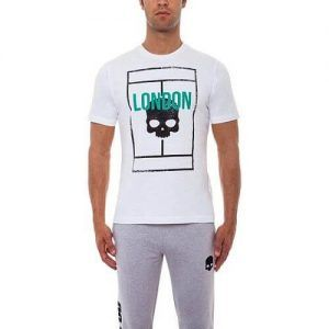 Hydrogen Court T-Shirt LONDON Maglietta da Tennis - TennisCornerShop