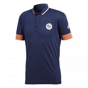 Adidas Roland Garros Climachill Polo Maglietta da Tennis - TennisCornerShop
