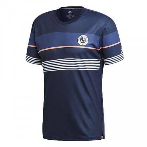 Adidas Roland Garros T-Shirt Maglietta da Tennis - TennisCornerShop