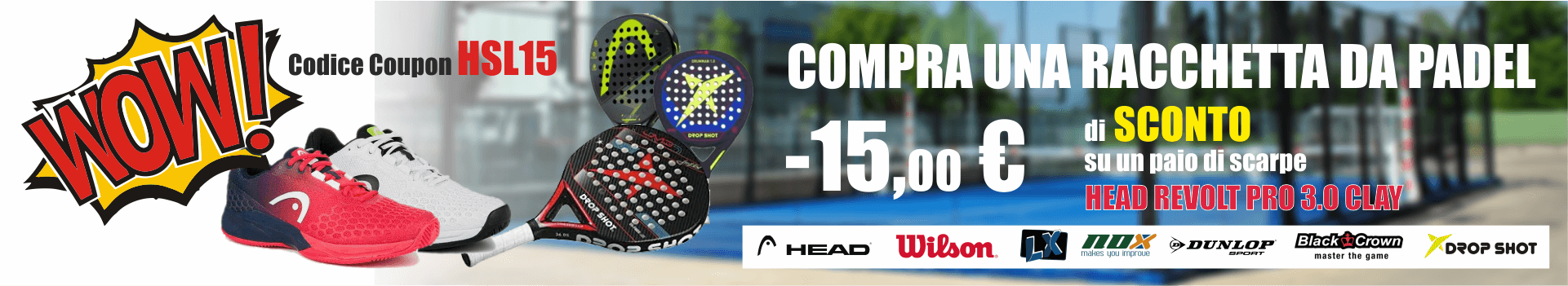 Head Revolution PRO 3.0 CLAY TENNIS CORNER