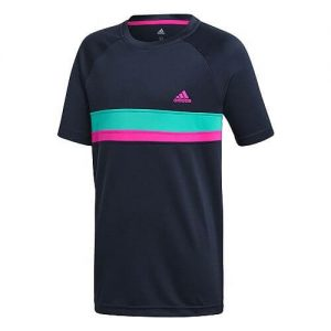 Adidas Club Color Block T-Shirt Junior Maglietta da Tennis - TennisCornerShop