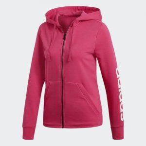 Adidas Essential Linear Full Zip Hoody Felpa da Tennis - TennisCornerShop