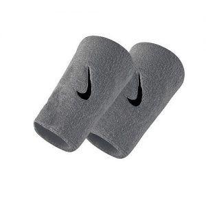 Nike Swoosh Double-Wide Wristbands Polsini da Tennis - TennisCornerShop