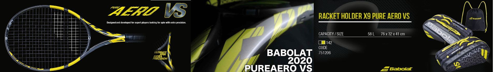 Babolat Pure Aero VS 2020